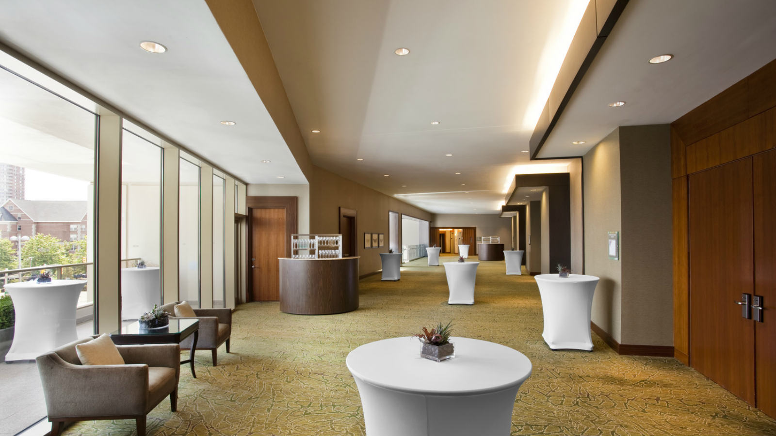 Ballroom Foyer | The Westin Jersey City Newport