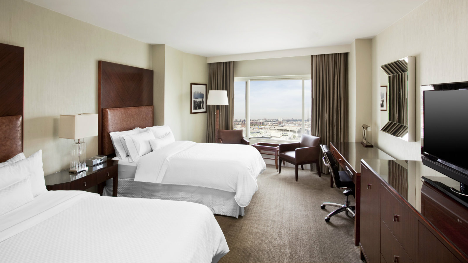 Double Guest Room | The Westin Jersey City Newport