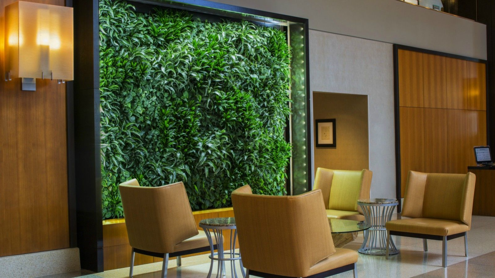 Living Wall | The Westin Jersey City Newport